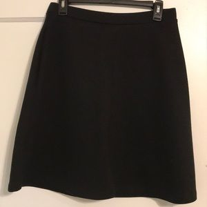 CYNTHIA ROWLEY - Black cone-shape skirt!